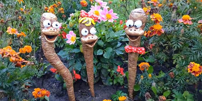 Садові фігурки, які сподобаються всім. Дешево і красиво