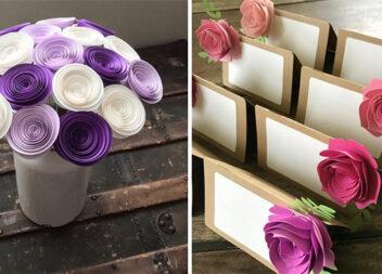 Паперові троянди: ідеї, шаблони, фото кроки
