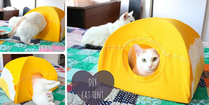 Як зробити будиночок для кішки за 15 хвилин