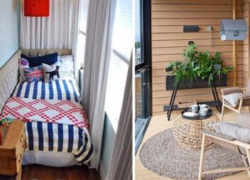 Гарний і сучасний дизайн балкону: 75 ідей та фото, які надихають