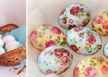 Простий і недорогий спосіб зробити з пасхального яйця справжній шедевр