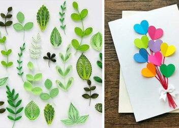 Неймовірні весняні листівки, які можна легко зробити самотужки
