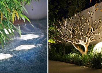 Освітлення саду та подвір'я — 25 ідей з фото