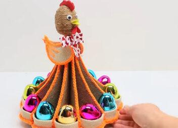 Ефектна підставка для пасхальних яєць. Таку захочуть усі, хто побачить