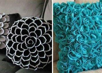 11 модних декоративних подушок, які можна зробити самотужки
