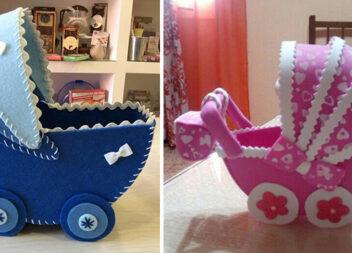 Як красиво оформити подарунок новонародженій дитині