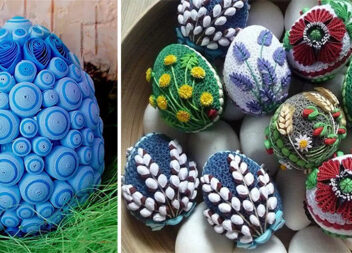 Пасхальне яйце в техніці квілінг: нереальна краса своїми руками. Ідеї + відео майстер класи