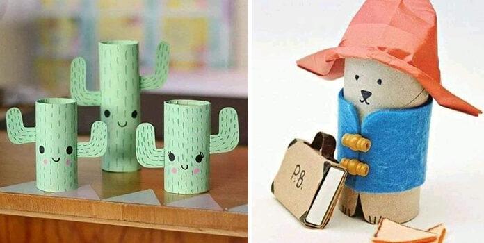 Дитяча творчість: вироби із картонних циліндрів