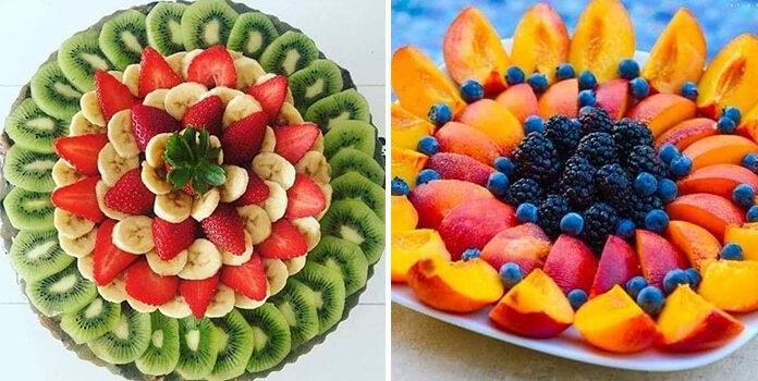 Як красиво сформувати фруктову тарілку