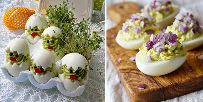 Як прикрасити фаршировані яйця. Ідеї для господинь на святковий стіл
