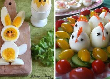 Як прикрасити варені яйця і не тільки. Ідеї для господинь