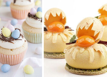 Декоруємо маленькі тістечка до Великодніх свят