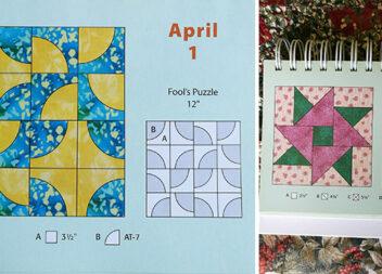 """""""Печворк"""" - календар для рукоділля. 30 схем на кожен день квітня"""