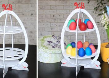 Робимо з фанери підставку для пасхальних яєць