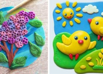 Що зліпити із пластиліну: цікаві ідеї для дитячої творчості