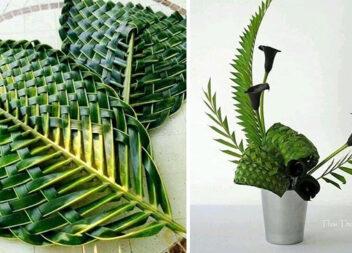 Красиве рукоділля: плетіння із пальмового листя