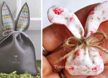 Маленький подарунок до Великодня: шиємо незвичних зайців