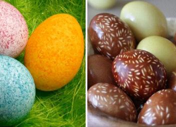 Фарбування яєць за допомогою рису: оригінальний спосіб - несподіваний результат!