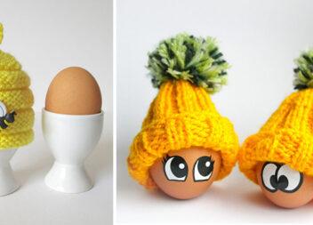 Сніданок з позитивом: шапочки і грілки для яєць