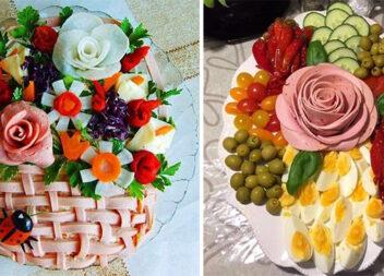 Красиво прикрашаємо страви на святковий стіл. Ідеї для господинь