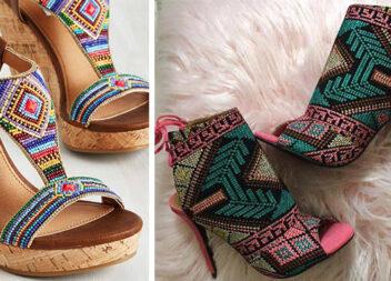 Взуття із вишивкою: красиво та оригінально