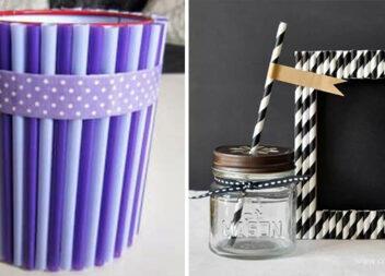 Творимо цікаві речі із коктейльних соломинок. 27 ідей для творчості