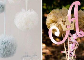 Як створити декор із фатину чи органзи