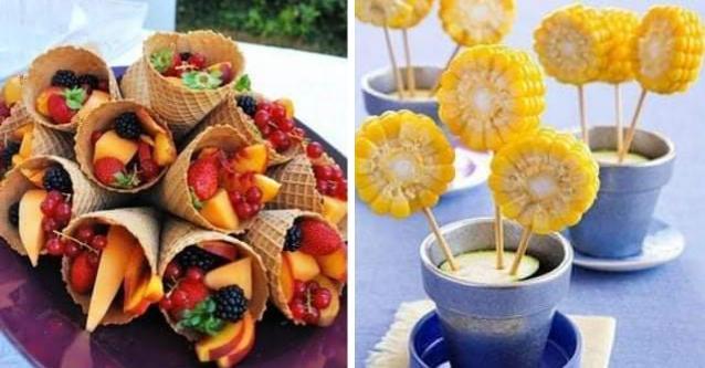 30 ідей як прикрасити святковий стіл фруктами