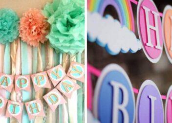 Робимо паперові гірлянди до Дня народження