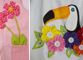 Аплікації із тканини або пришиваємо чудові латки на дитячий одяг