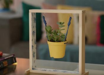 Нестандартне кашпо, яке чудово прикрасить будь-яке вікно в вашому домі