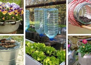 Більше 40 креативних ідей для дому зі звичайної посуду