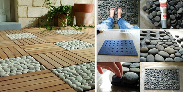 Декор із камінців: краса, зроблена самотужки