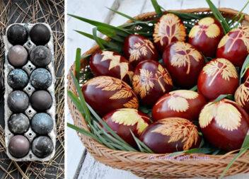 Традиційні крашанки: 14 дієвих рецептів натуральних барвників та 15 варіантів декору