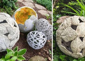 Дуже красивий, затишний і бюджетний декор для саду. А головне - простіше не придумаєш!