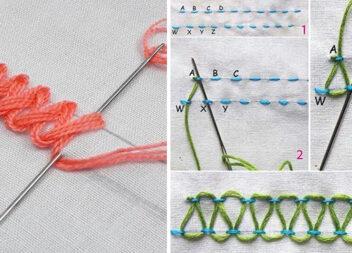 Скарбничка рукоділля. Варіанти красивих швів у вишиванні