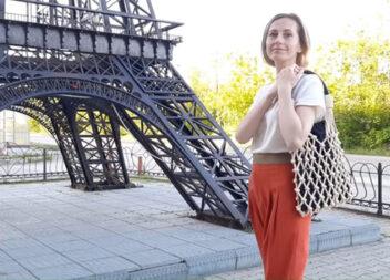 """Ви закохаєтесь в цю сумку. Сумка-шопер як у """"PRADA"""" самотужки"""