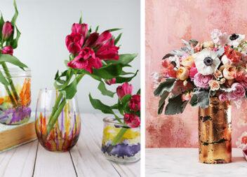 З найпростішої вази можна зробити шедевр. Чудові ідеї для натхнення