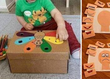 Навчаємось граючись: добірка розваг із малюками