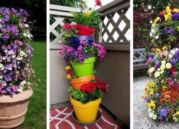 Більше 40 варіантів веж із квітів, які можна зробити за вихідні