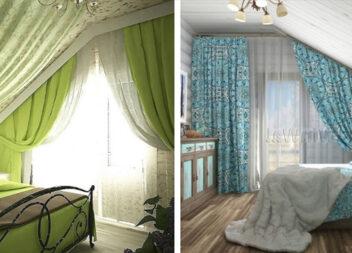 Штори для мансардного вікна: ідеї для прикраси своєї оселі