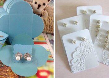Коробочки для сережок ручної роботи самотужки