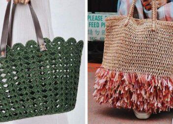 Літні сумочки гачком. Ідеї для натхнення