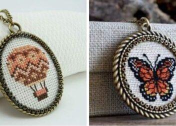 Мініатюрна вишивка: прикраси та дрібний декор