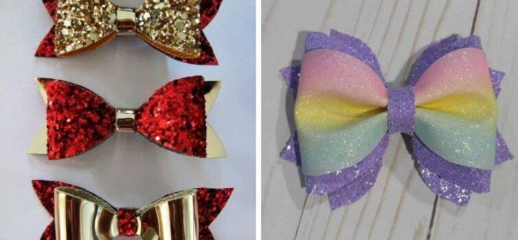 Декоративні бантики: ідеї та шаблони
