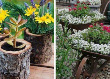 Кілька цікавих ідей для подвір'я чи саду