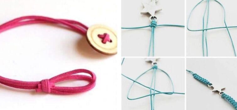 Браслетики із мотузки. Плетемо самотужки