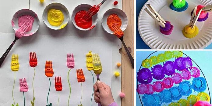 Техніки живопису для дитячої творчості
