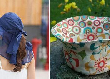 Шиємо літні капелюхи та панами. Викрійки