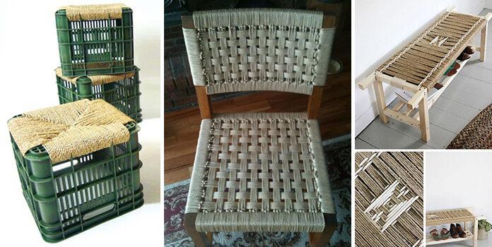 Ідеї створення плетених меблів своїми руками